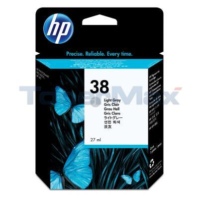 HP NO 38 VIVERA INK LIGHT GRAY 
